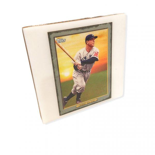 Topps Legend Lou Gehrig Coaster