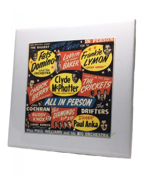 Fats Dominoe Concert Coaster