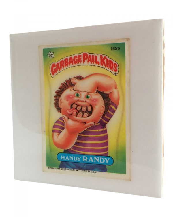Handy Randy Garbage Pail Kids Coaster