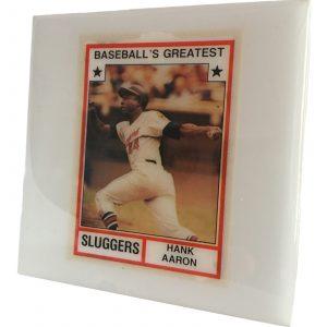 Hank Aaron Coaster