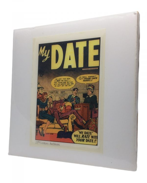 Jack Kirby My Date Coaster
