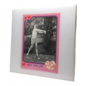 Lucille Ball I Love Lucy Coaster