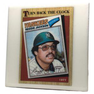 Reggie Jackson Turn Back the Clock Coaster