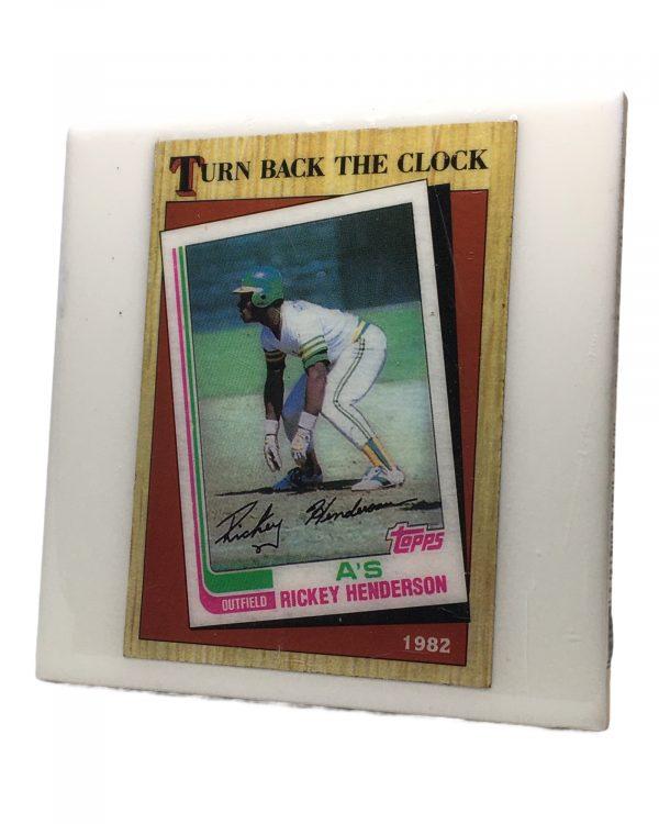 Ricky Henderson Turn Back the Clock Coaster