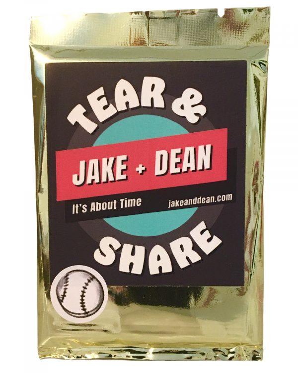Tear and Share Baseball cards